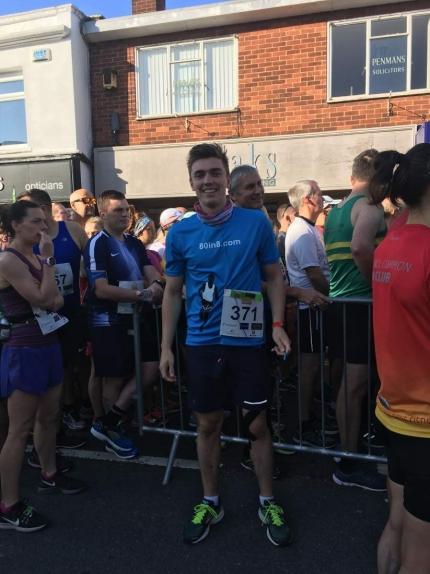 Kenilworth Half Marathon Sean McGibney