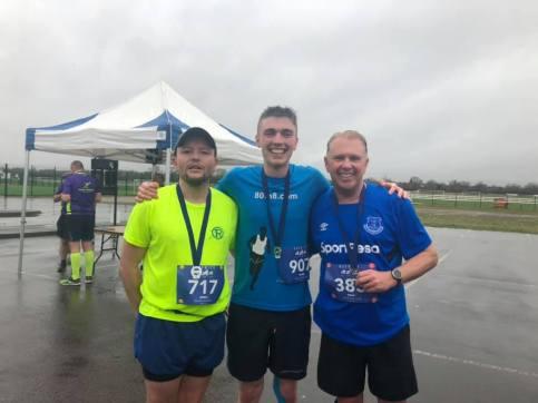 Sean McGibney, Steve, Dr Chris