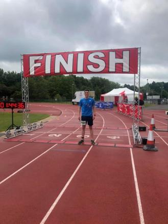 Leigh Track Half Marathon Sean McGibney